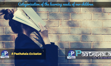 Categorization of the Learning Needs of our Children